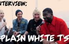 Plain White T's talk recording cutlery noises and music video ideas
